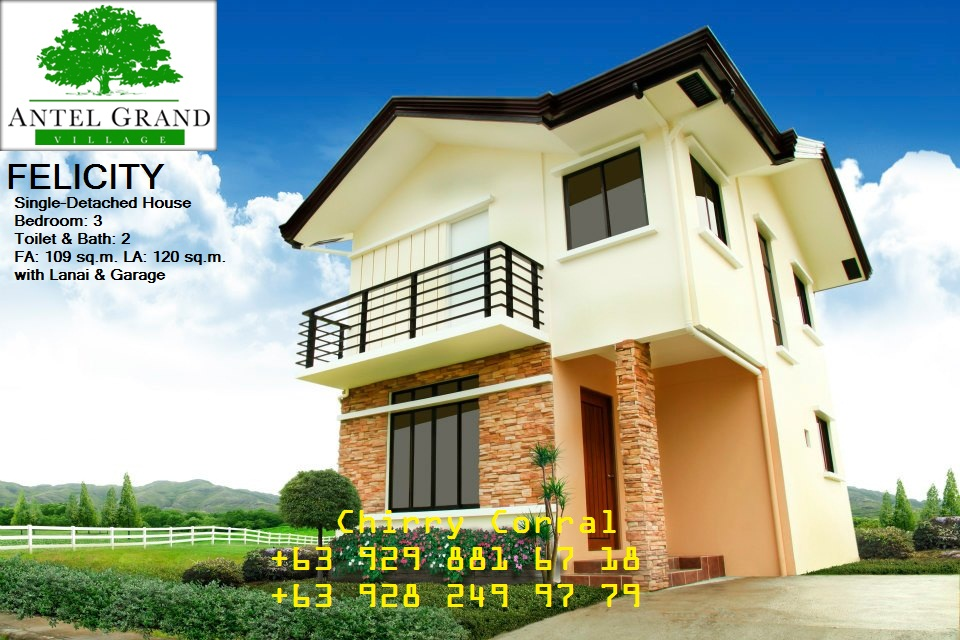 Felicity single detached house model cavite homes for sale for New model houses in the philippines